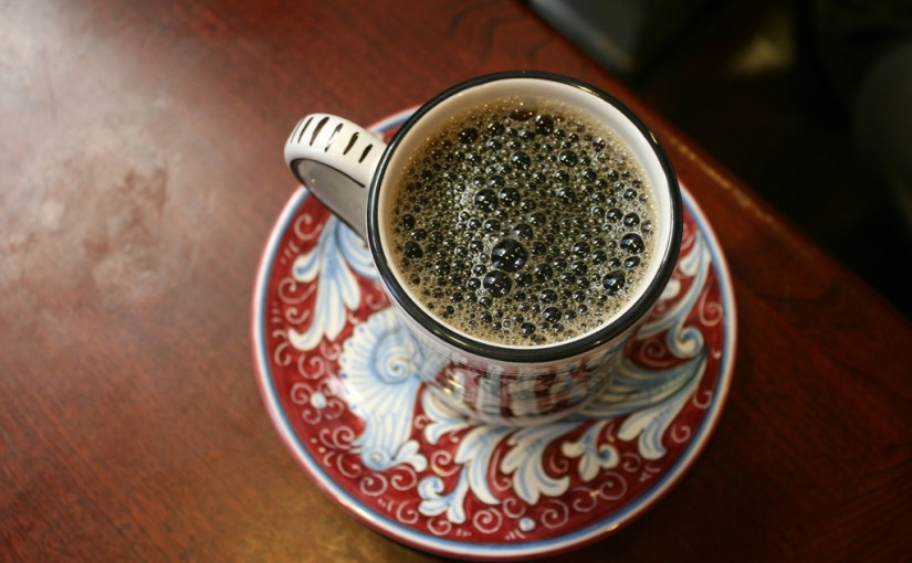 Photo of La Colombe coffee by Flickr user Quinn Dombrowski via Creative Commons. Taken in December 2010