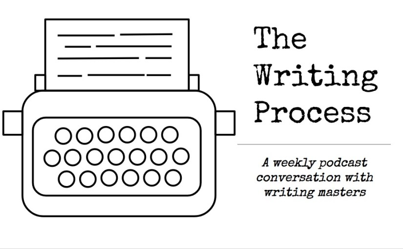 The Writing Process typewriter logo