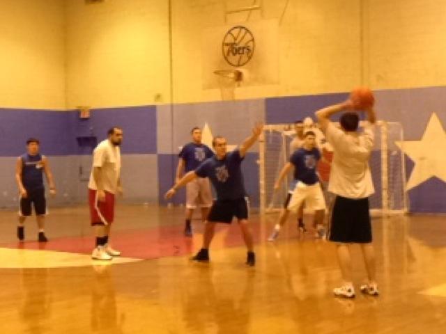 Jimmy Quinn Memorial Basketball League in Fishtown