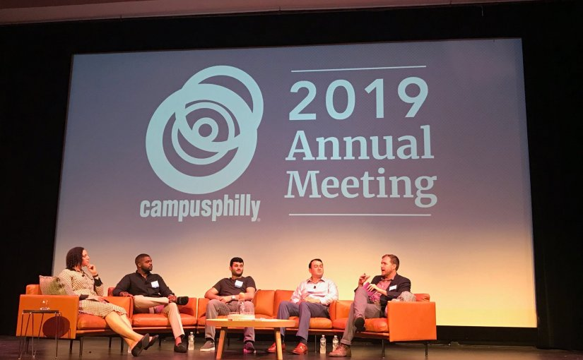 I moderated the keynote roundtable discussion at Campus Philly's Annual Meeting