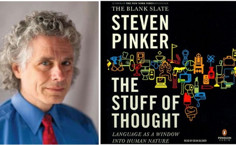 Notes on 'Stuff of Thought' by Steven Pinker