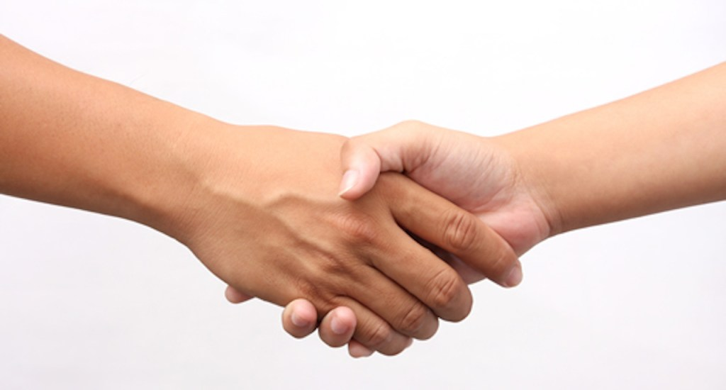 Real Estate Handshake Deal