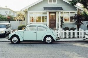 Charming House & VW Bug