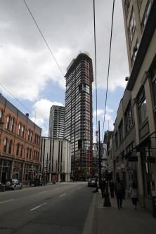 Vancouver, Gastown Wohnblock