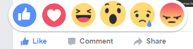 """UPDATED: My reaction to Facebook """"reaction buttons"""": Don't overthink 'em!"""