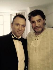 With maestro J. Cura - La Rondine @Opéra National de Lorraine 2010