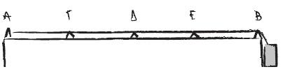 """Σχέδιο του Μιχάλη Ροδίτη για το βιβλίο """"Ο Πύργος του Β"""""""