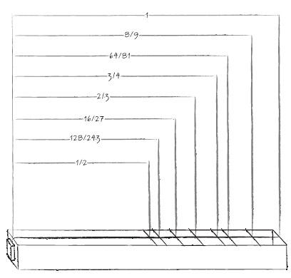 """Σχέδιο του Μιχάλη Ροδίτη για το βιβλίο """"Ο Πύργος του β - Μια μαθηματική περιπέτεια"""""""