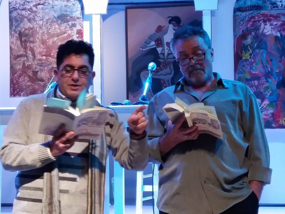 Ζαχαρίας Κατσακός (αριστερά) και Γιώργος Ηλιάδης