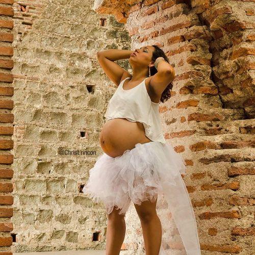 sesion de fotos embarazada tutu bailarina Christophe Rincon