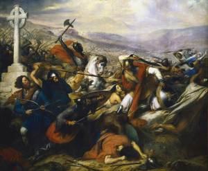 Charles Martel à la Bataille de Poitiers