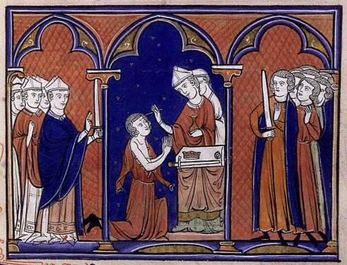 Ordo du Sacre, L'Onction du roi - Ordo de 1246