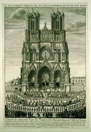 Grande entrée de Louis XVI à Reims