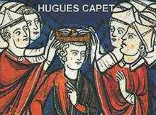 Couronnement d'Hugues Capet