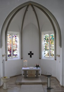 Altarraum der Christus-Kirche