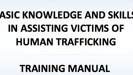 BASIC KNOWLEDGE AND SKILLS IN ASSISTING VICTIMS OF HUMAN TRAFFICKING – ROMANIA