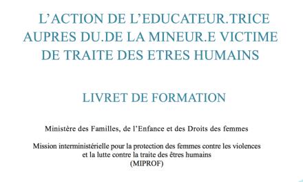 FRANCE L'action de l'éducateur auprès de mineurs victimes de la traite des êtres humains