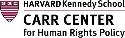 HARVARD UNIVERSITY – CARR CENTER for Human Rights Policy