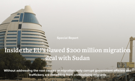 IRIN – Inside the EU's flawed $200 million migration deal with Sudan