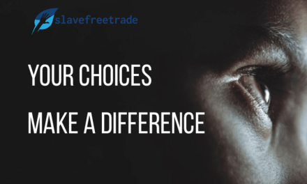 SLAVE FREE TRADE – 71% of businesses admit there is probably slavery in their supply chain