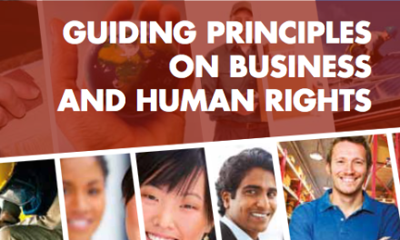 UN HUMAN RIGHTS – Guiding Principles on Business and Human Rights