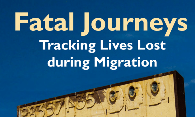 OIM – Fatal Journeys – VOLUME 1 – Tracking Lives Lost during Migration (Edited by Tara Brian and Frank Laczko) – 2015