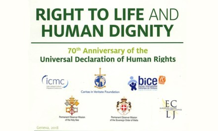 """Panel on Dignity of life / Is life inviolable or a """"Property"""" ? / Permanent Mission of the Holy See to the United Nations – ARCHBISHOP IVAN JURKOVIČ – 3 Dec. 2018"""