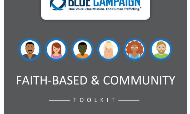 USA – BLUE CAMPAIGN – Faith-Based & Community TOOLKIT