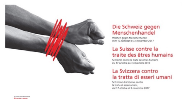 18 octobre – La Suisse contre la traite des êtres humains