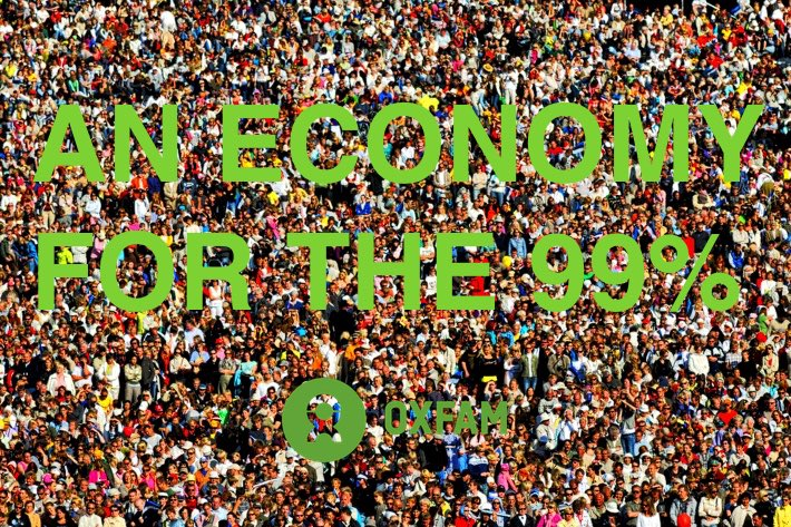 OXFAM – AN ECONOMY FOR THE 99% REPORT