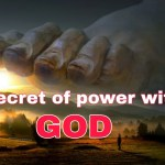 Righteousness, the Secret Power of speaking Gods word and secret of power with God