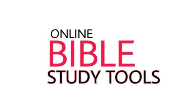 online bible study tools