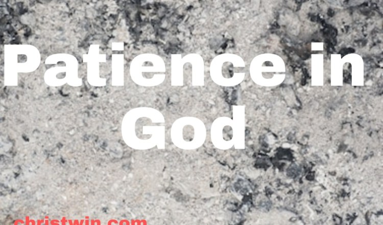 75 scriptures on patience in god