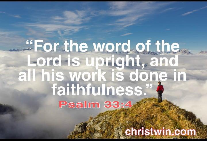 32 God is faithful Bible verses