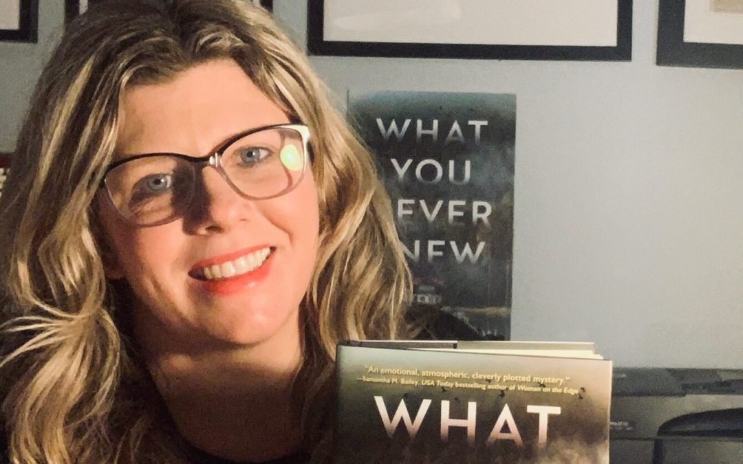 Jessica Hamilton answers questions about her new thriller What You Never Knew.