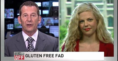 Christy Brissette, RD, media dietitian, weighs in on the gluten-free fad on Square Off