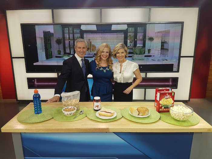 Media dietitian Christy Brissette President of 80 Twenty Nutrition TV personality on Global's The Morning Show