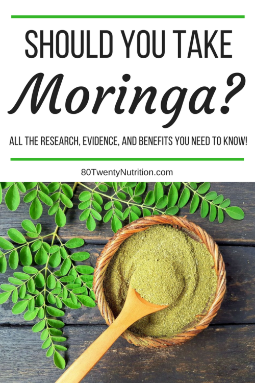 Should you take moringa? Here's all the research, evidence, and benefits you need to know!