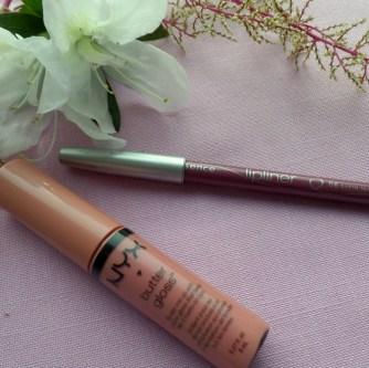 Nyx Butter Gloss & Essence Lip Liner