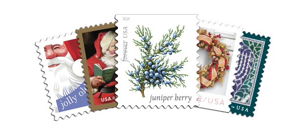 USPS Holiday Stamp Collection