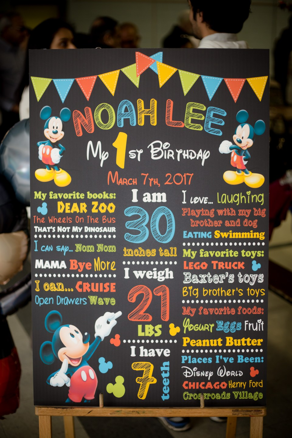 Noah Lee Turns 1-2