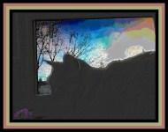 Caturday Art: Uninspired
