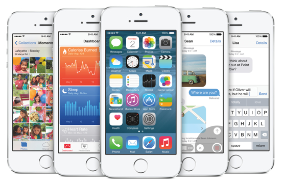 iOS 8 - iPhone 5s