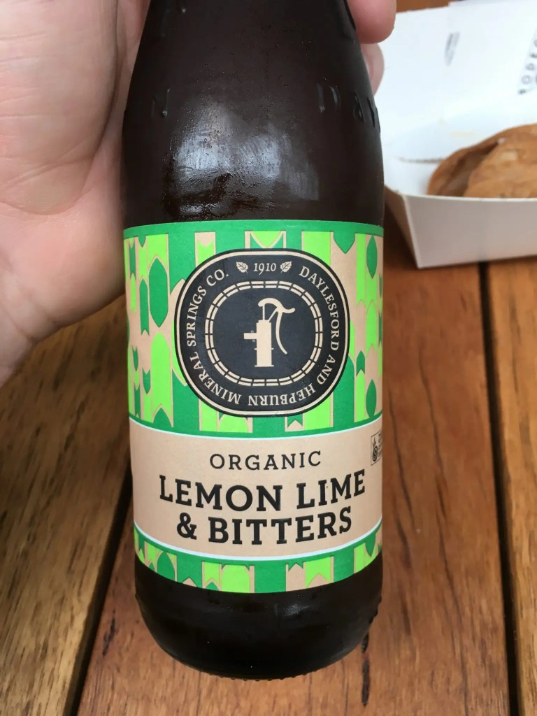 Organic Lemon, Lime and Bitters Soft Drink