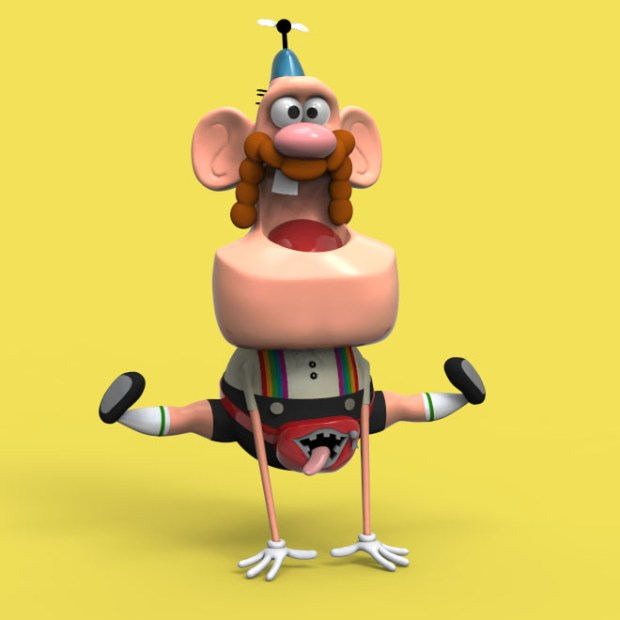 Uncle Grandpa render