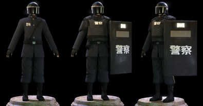 Obsidian -Chinese Riot Officer