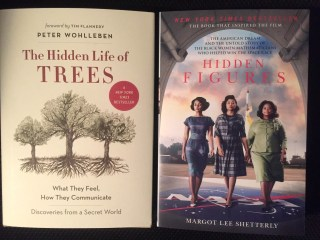 The Hidden Life of Trees and Hidden Figures from RJ Julia (WildmooBooks.com)