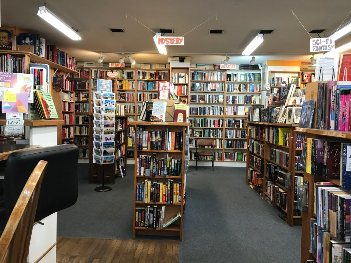 Mystery and Literature at Godfather's Books in Astoria, OR (WildmooBooks.com)