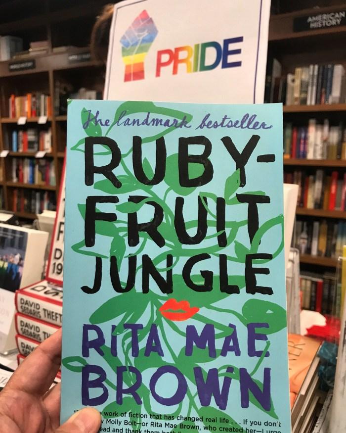 Rubyfruit Jungle by Rita Mae Brown (WildmooBooks.com)