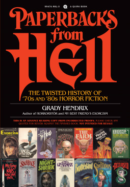 Paperbacks from Hell by Grady Hendrix (chriswolak.com)